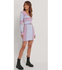 melissa bentsen x na-kd kjol med hög midja - multicolor