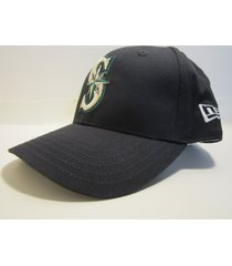seattle mariners mlb vintage late '90's structured youth home ball cap / new era