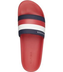 tommy hilfiger men's rozi pool slide sandals men's shoes