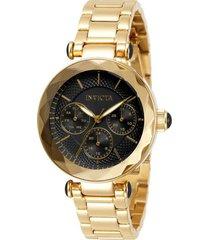 reloj angel invicta modelo 31298 dorado