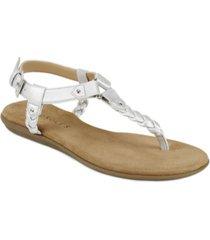 aerosoles cedar grove braided sandal women's shoes