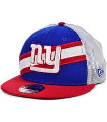 new era new york giants diagonal trucker 9fifty cap