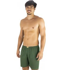 short curto mvb modas  pijama de dormir verde - verde - masculino - poliã©ster - dafiti
