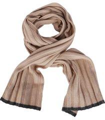 brunello cucinelli beige cashmere scarf