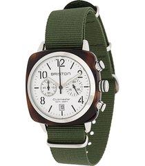 briston watches clubmaster watch - green