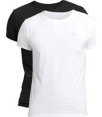 gant 2 stuks basic crew neck t-shirt
