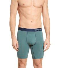 men's tommy john cool cotton boxer briefs, size x-large - blue