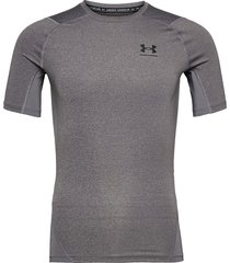 ua hg armour comp ss t-shirts short-sleeved grå under armour