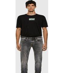 polera t just x62 t shirt negro diesel