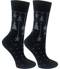 love sock company women's christmas ornament organic cotton socks