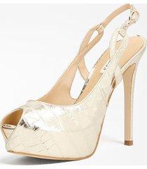 laminowane sandały model ginnia