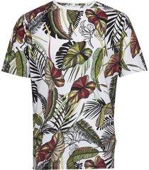 aop tee s/s t-shirts short-sleeved vit lindbergh