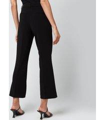 holzweiler women's sarabi trousers - black - l