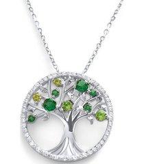 collar arbol de la vida casual plata arany joyas