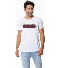camiseta osmoze 09 110112739 branca - branco - eg - masculino