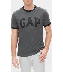 camiseta gris-azul oscuro gap