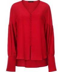 bluzka red buttons