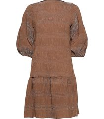 maisieiw dress knälång klänning beige inwear