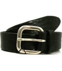 anderson's belt textured leather belt | black | pl100-n1
