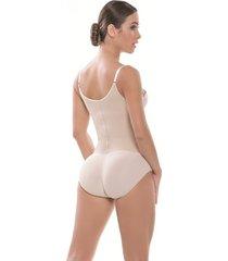 body espalda alta estilo panty beige