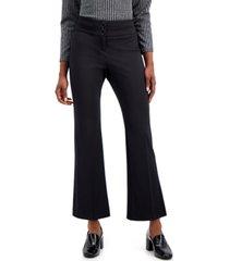 alfani snap-waist trousers, created for macy's