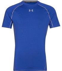 ua hg armour ss underwear t-shirts short-sleeved blå under armour