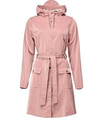 rains regenjas curve jacket blush