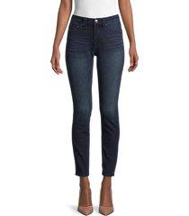 true religion women's halle super t mid-rise super skinny jeans - dark miner - size 28 (4-6)