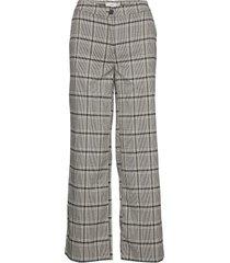 ihbiance pa pantalon met rechte pijpen grijs ichi