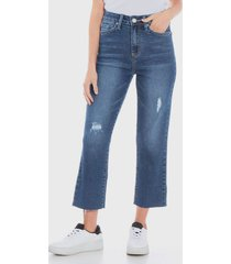 jeans wados azul - calce holgado