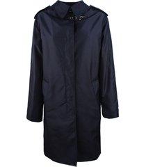 fay blue fay trench coat
