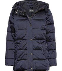 jackets outdoor woven fodrad jacka blå esprit collection