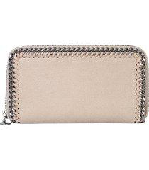stella mccartney designer wallets, zip around falabella wallet