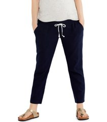 a pea in the pod under-belly cropped maternity pants