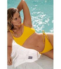 hunkemöller napa brazilian-bikiniunderdel gul