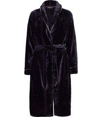 decoy long robe w/piping morgonrock blå decoy