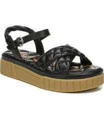 sam edelman women's gavril braided crisscross sandals women's shoes