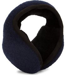 shearling-lined earmuffs