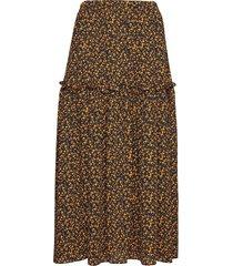 fiji maxi skirt rok knielengte geel just female