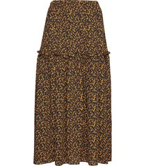 fiji maxi skirt rok knielengte geel just female