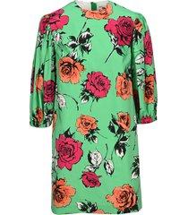 msgm floral mini dress