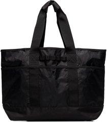 snow peak nylon top handles tote - black