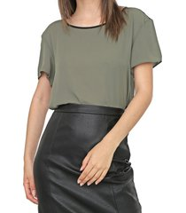 blusa my favorite thing(s) textura verde