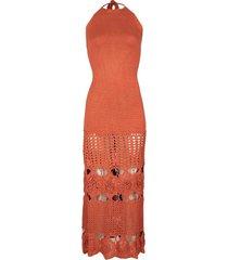 terracotta carina dress