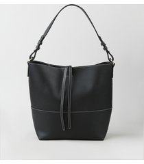 bolsa de ombro feminina grande preta