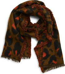 women's madewell jungle cat scarf