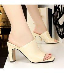 moda sandalias de punta estrecha para las mujeres sandalias sandalias