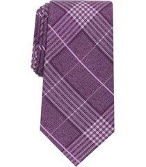 perry ellis men's rowland classic plaid tie
