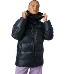 converse chaqueta media de plumón black
