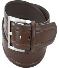 florsheim men's dress casual stitched belt